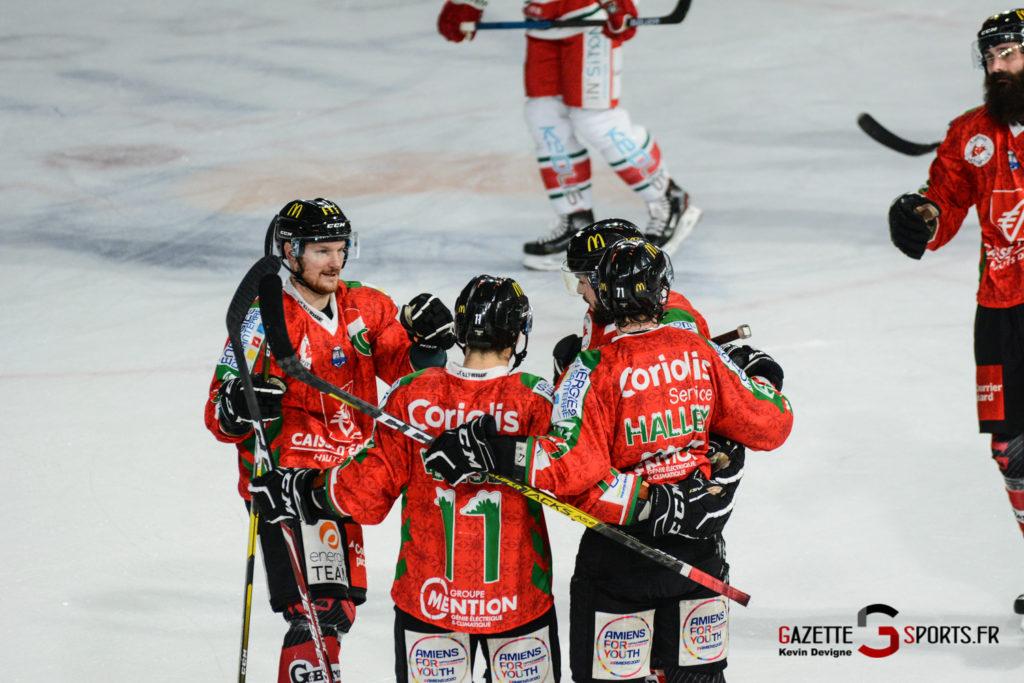 Hockey Sur Glace Gothiques Vs Anglet Kevin Devigne 77