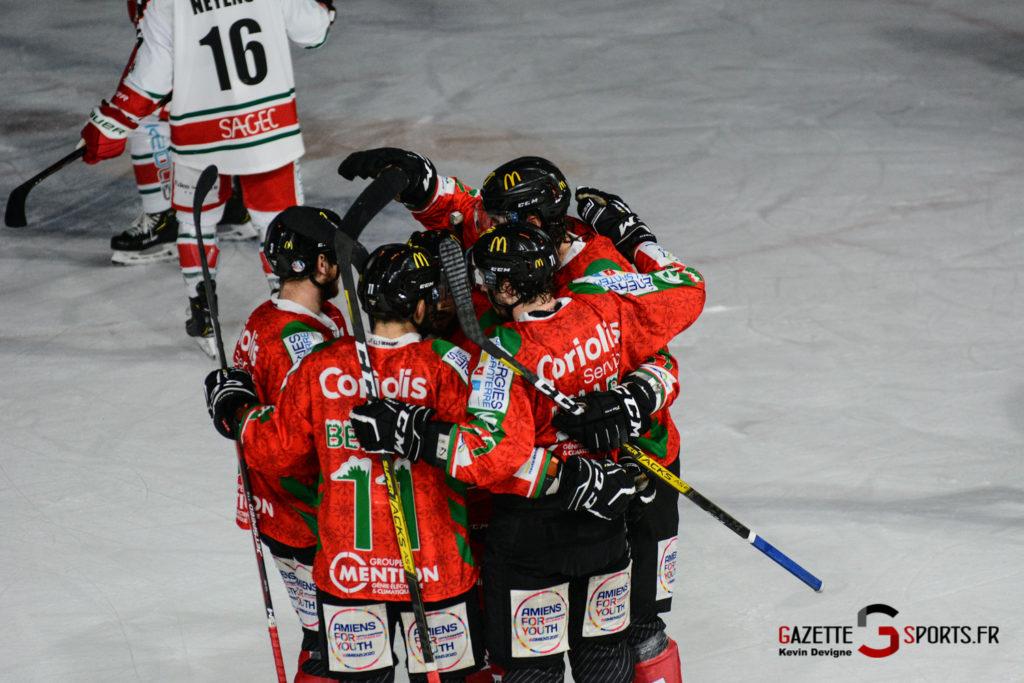 Hockey Sur Glace Gothiques Vs Anglet Kevin Devigne 78