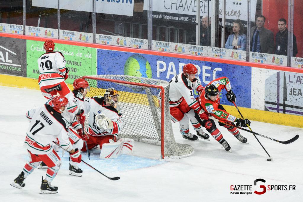 Hockey Sur Glace Gothiques Vs Anglet Kevin Devigne 79