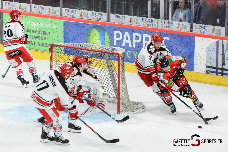 Hockey Sur Glace Gothiques Vs Anglet Kevin Devigne 80
