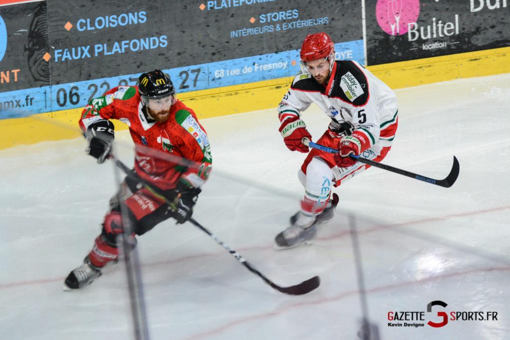 Hockey Sur Glace Gothiques Vs Anglet Kevin Devigne 81