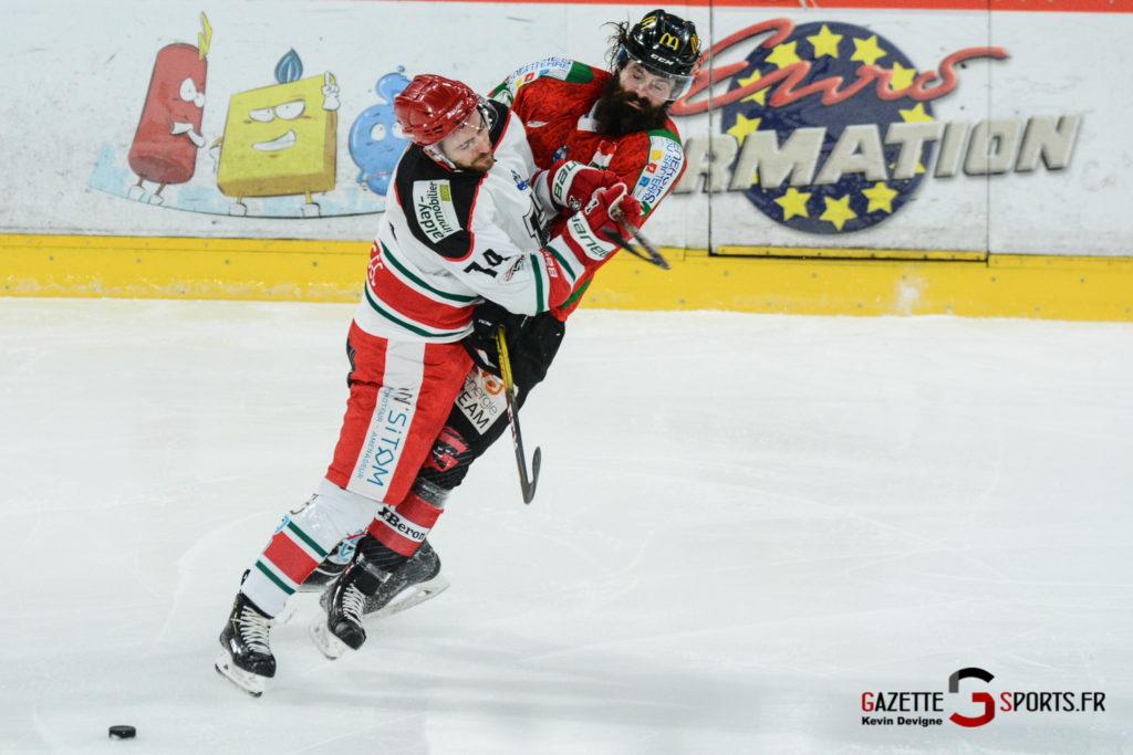 Hockey Sur Glace Gothiques Vs Anglet Kevin Devigne 82