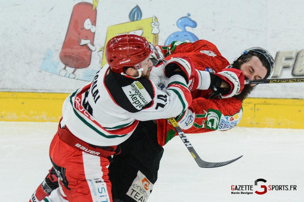Hockey Sur Glace Gothiques Vs Anglet Kevin Devigne 83