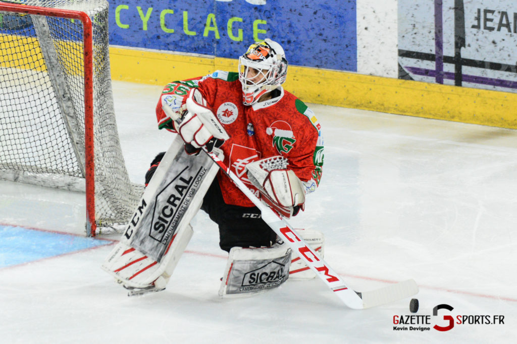Hockey Sur Glace Gothiques Vs Anglet Kevin Devigne 84
