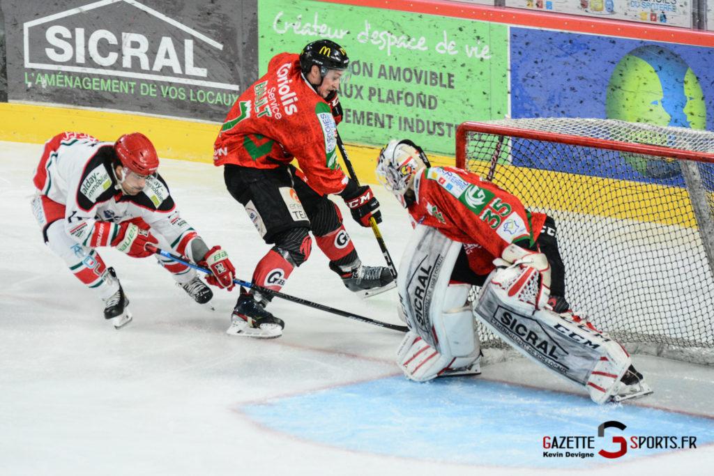 Hockey Sur Glace Gothiques Vs Anglet Kevin Devigne 85