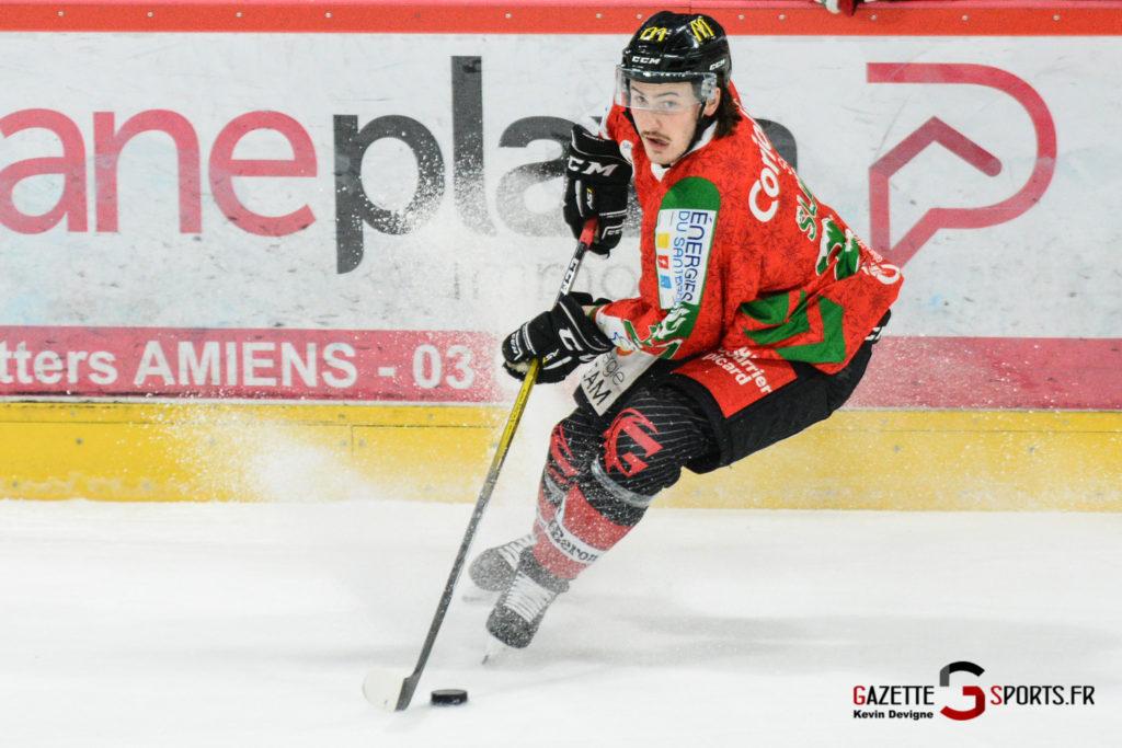 Hockey Sur Glace Gothiques Vs Anglet Kevin Devigne 86