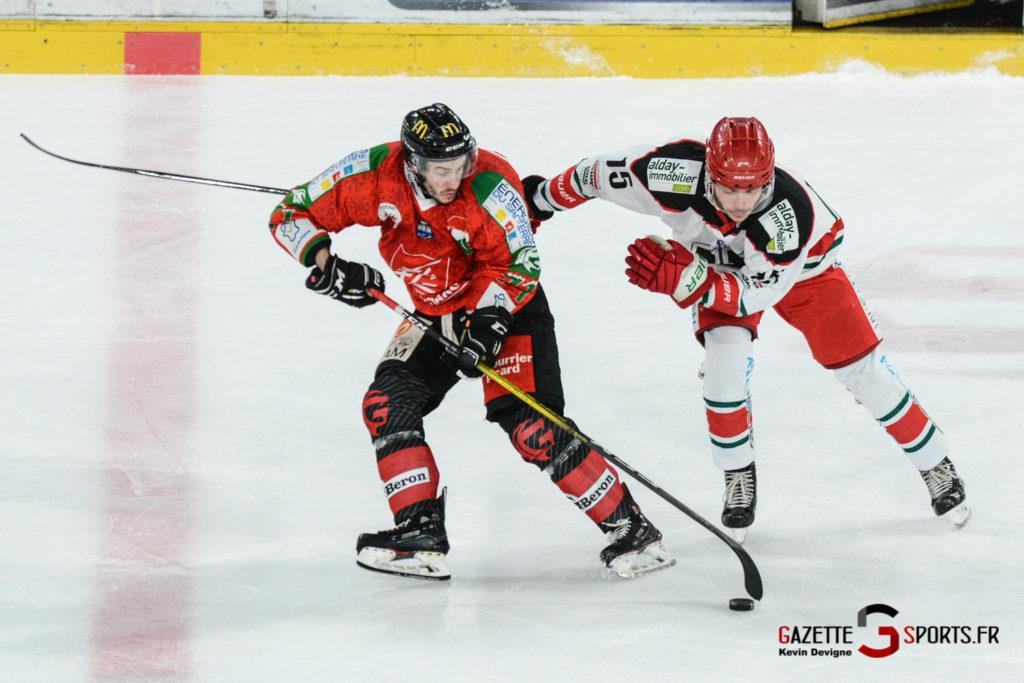 Hockey Sur Glace Gothiques Vs Anglet Kevin Devigne 87