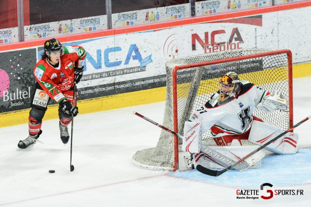 Hockey Sur Glace Gothiques Vs Anglet Kevin Devigne 88