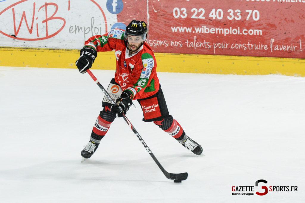 Hockey Sur Glace Gothiques Vs Anglet Kevin Devigne 89