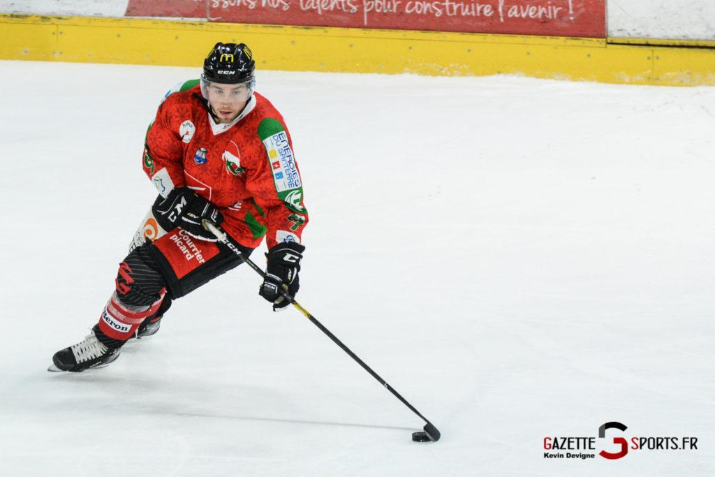 Hockey Sur Glace Gothiques Vs Anglet Kevin Devigne 91