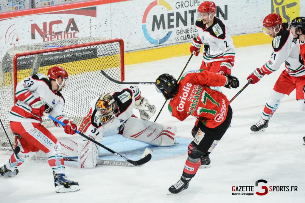 Hockey Sur Glace Gothiques Vs Anglet Kevin Devigne 92