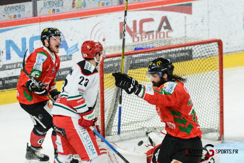 Hockey Sur Glace Gothiques Vs Anglet Kevin Devigne 93