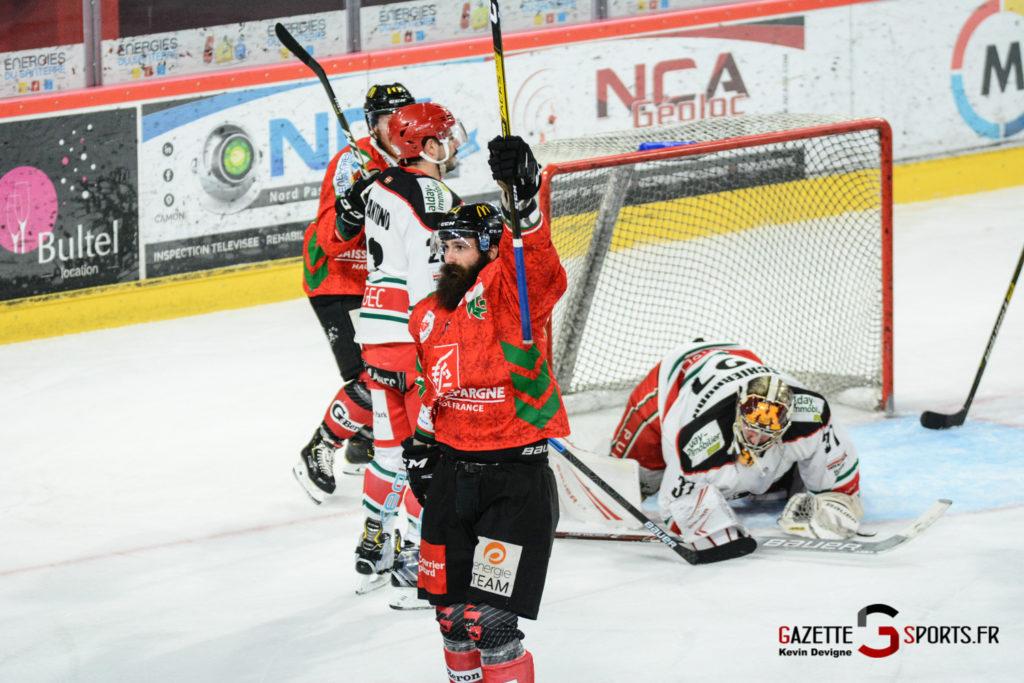 Hockey Sur Glace Gothiques Vs Anglet Kevin Devigne 94