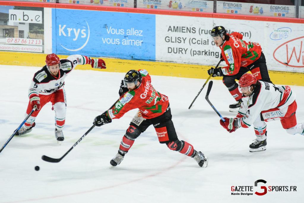 Hockey Sur Glace Gothiques Vs Anglet Kevin Devigne 95