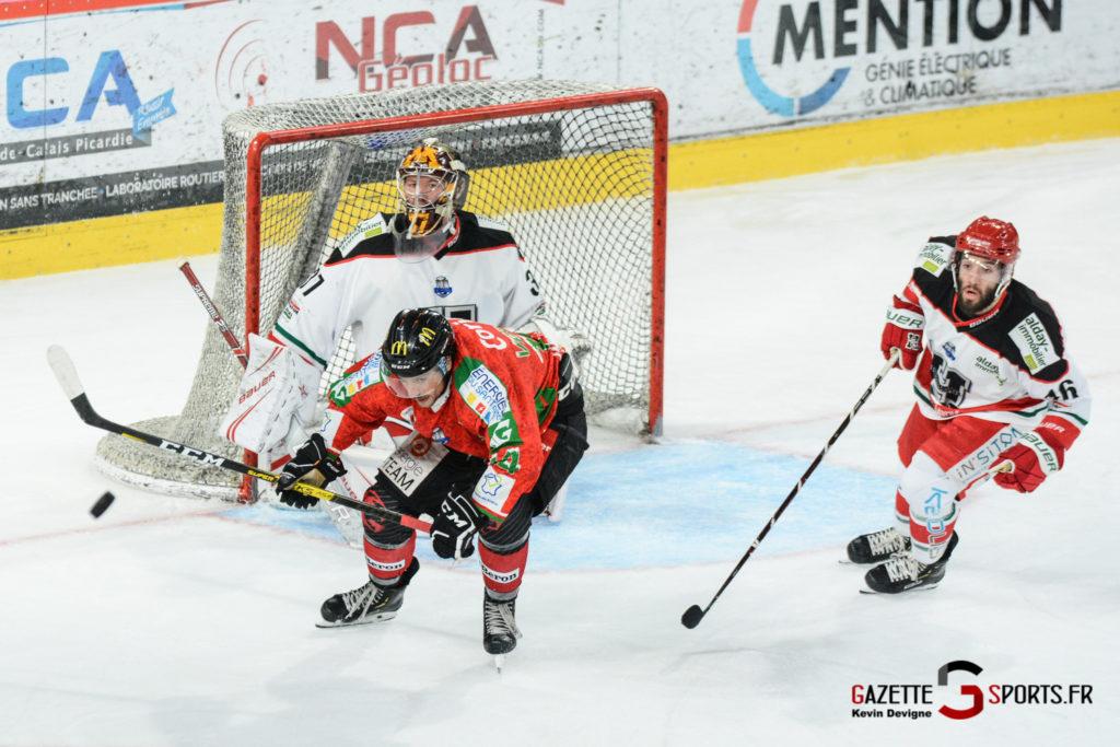 Hockey Sur Glace Gothiques Vs Anglet Kevin Devigne 96