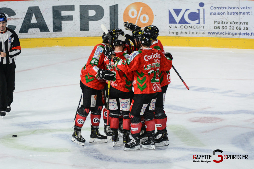 Hockey Sur Glace Gothiques Vs Anglet Kevin Devigne 98