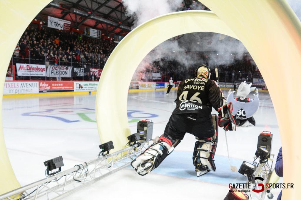 Hockey Sur Glace Gothiques Vs Briancon Kevin Devigne