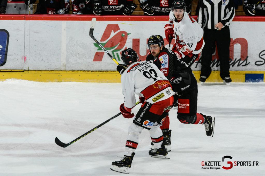 Hockey Sur Glace Gothiques Vs Briancon Kevin Devigne 31