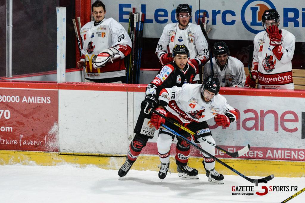 Hockey Sur Glace Gothiques Vs Briancon Kevin Devigne 32