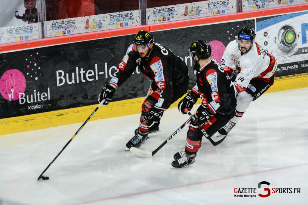 Hockey Sur Glace Gothiques Vs Briancon Kevin Devigne 33