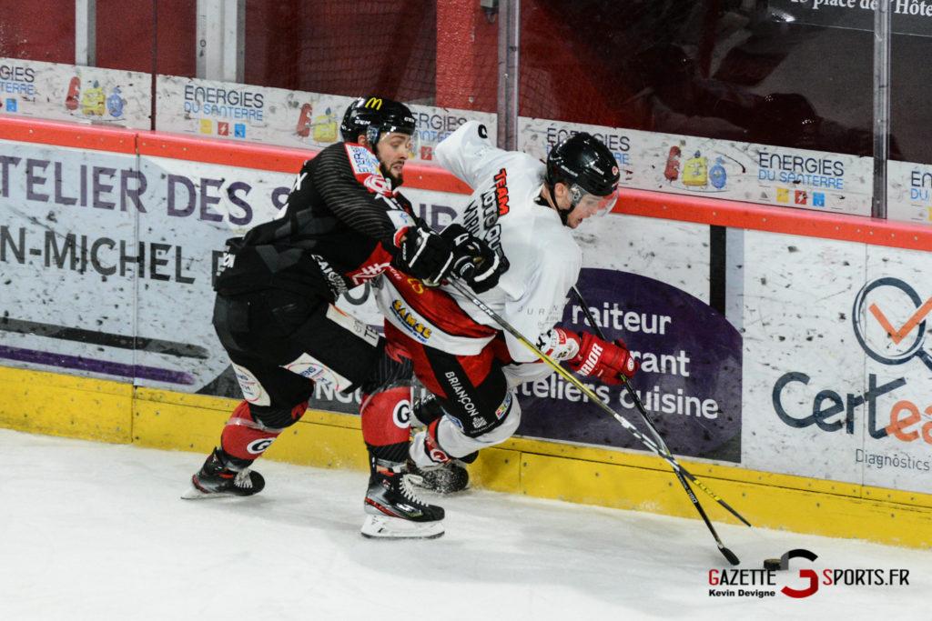 Hockey Sur Glace Gothiques Vs Briancon Kevin Devigne 40