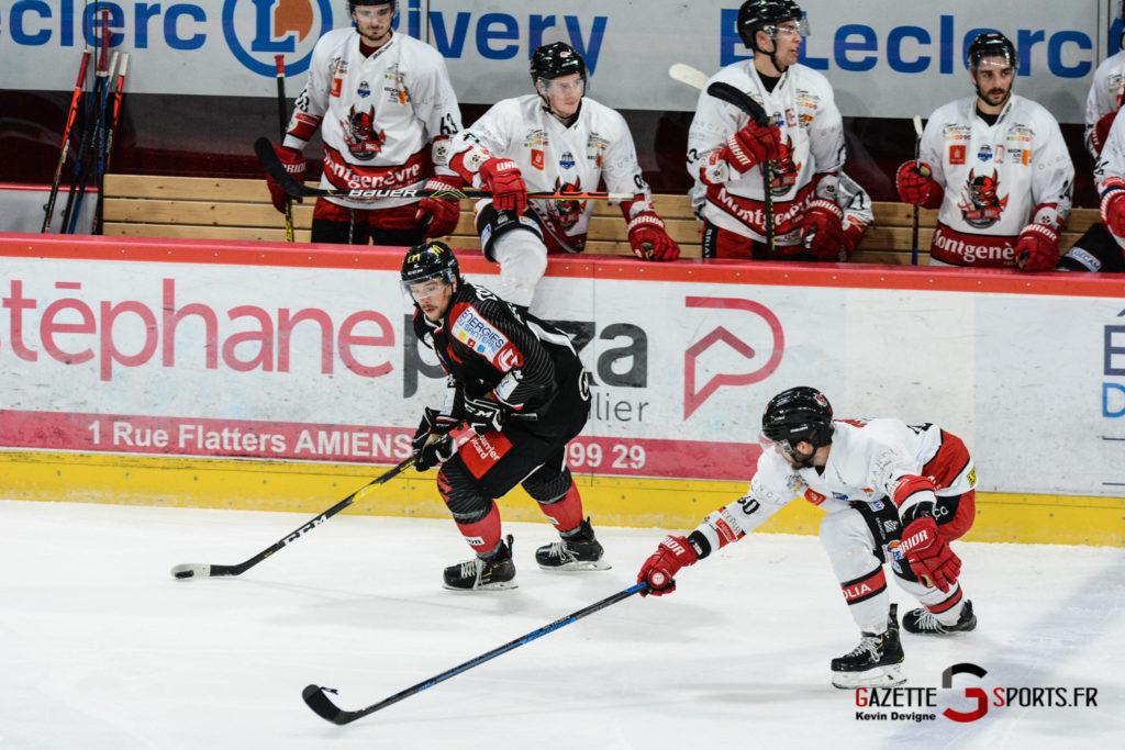 Hockey Sur Glace Gothiques Vs Briancon Kevin Devigne 43