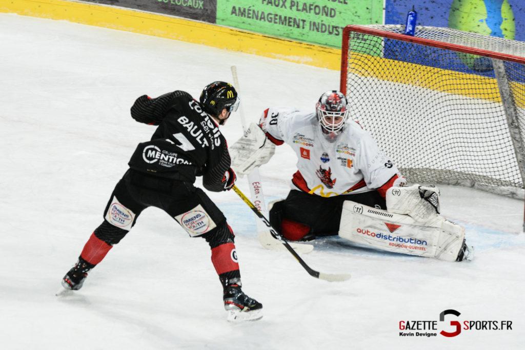 Hockey Sur Glace Gothiques Vs Briancon Kevin Devigne 44
