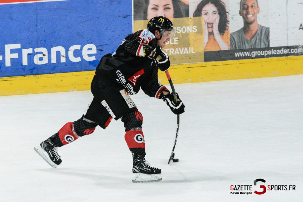 Hockey Sur Glace Gothiques Vs Briancon Kevin Devigne 45