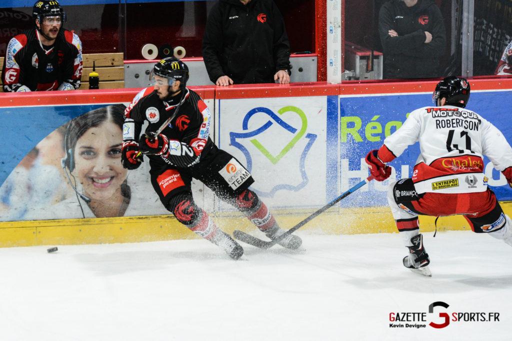 Hockey Sur Glace Gothiques Vs Briancon Kevin Devigne 48