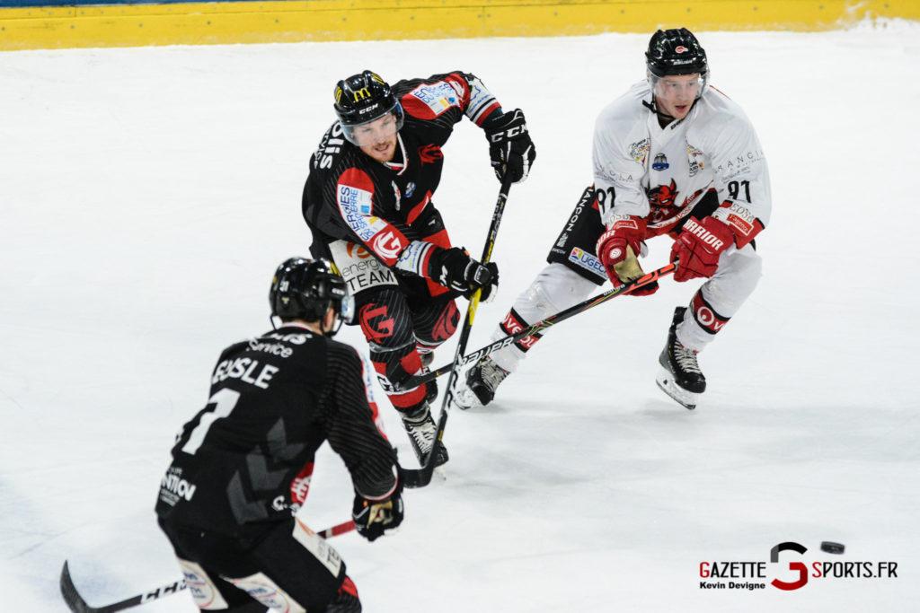 Hockey Sur Glace Gothiques Vs Briancon Kevin Devigne 50