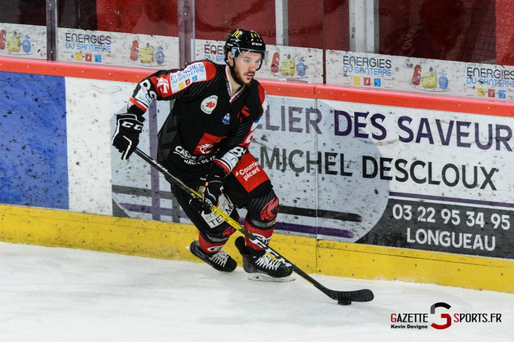 Hockey Sur Glace Gothiques Vs Briancon Kevin Devigne 52