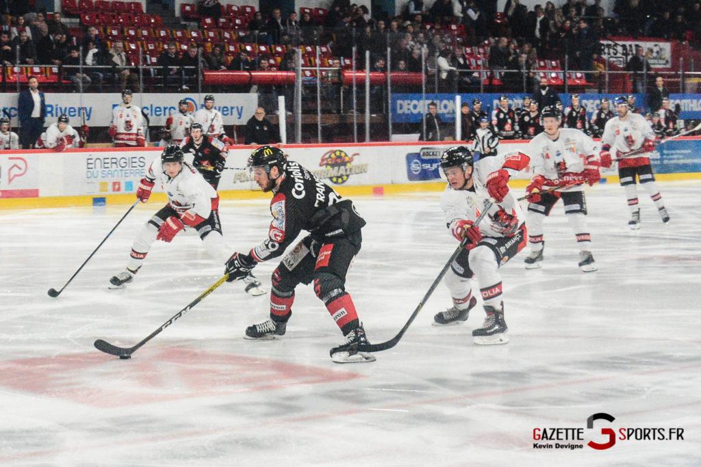 Hockey Sur Glace Gothiques Vs Briancon Kevin Devigne 55