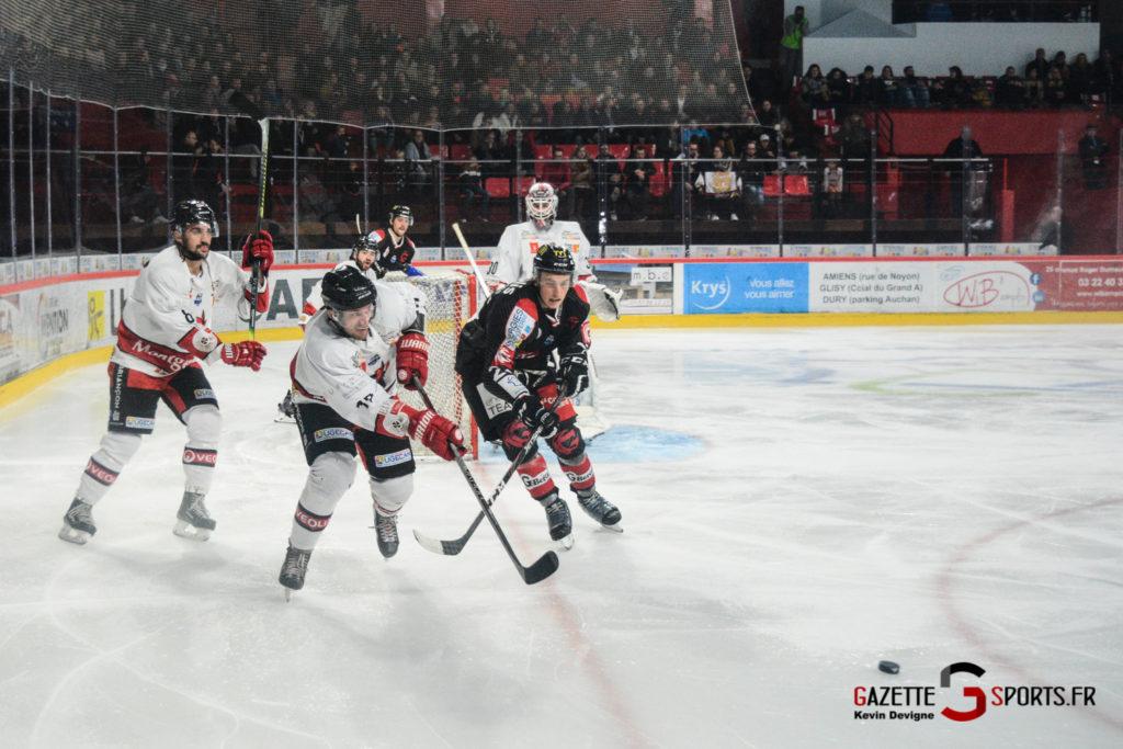 Hockey Sur Glace Gothiques Vs Briancon Kevin Devigne 57