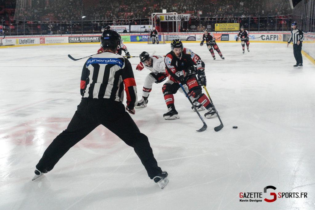 Hockey Sur Glace Gothiques Vs Briancon Kevin Devigne 58