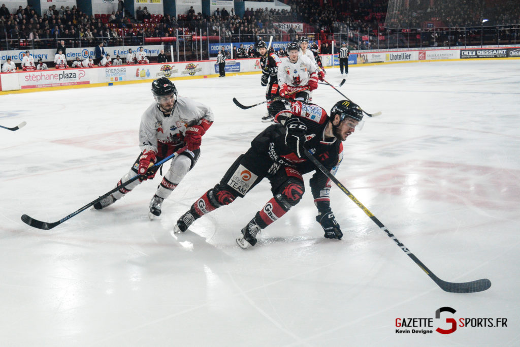 Hockey Sur Glace Gothiques Vs Briancon Kevin Devigne 59