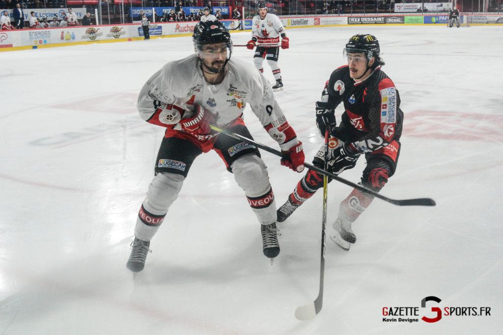 Hockey Sur Glace Gothiques Vs Briancon Kevin Devigne 60