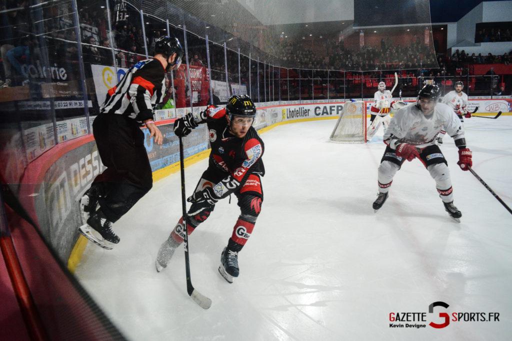 Hockey Sur Glace Gothiques Vs Briancon Kevin Devigne 63