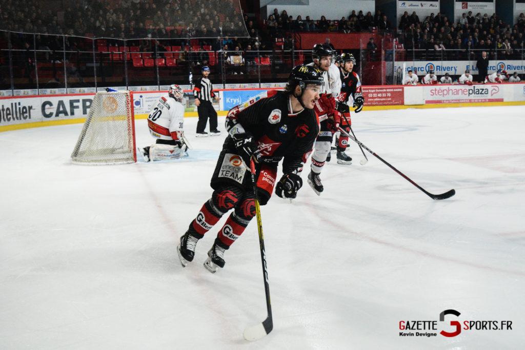 Hockey Sur Glace Gothiques Vs Briancon Kevin Devigne 68