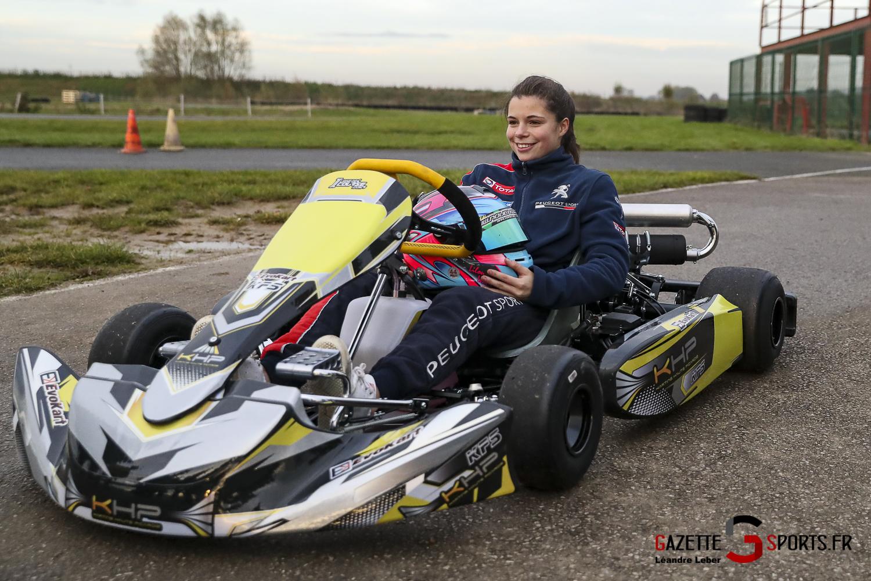 Lilou Wadoux Karting Arvillers 0004 Leandre Leber Gazettesports