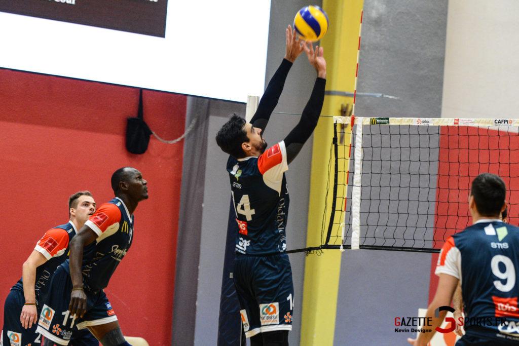 Volley Ball Amvb Vs Epinal Kevin Devigne Gazettesports 24
