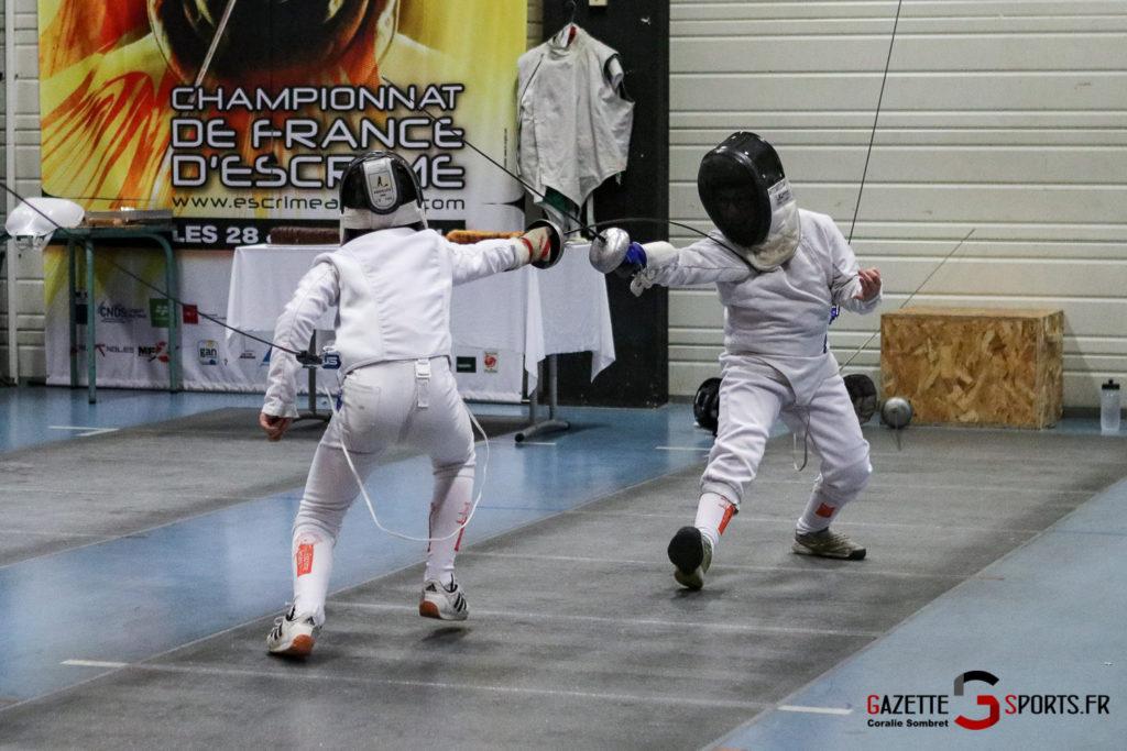 Escrime Préparation De Noel Pour Qualification Championnat De France Gazettesports Coralie Sombret 11