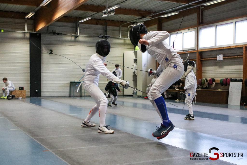 Escrime Préparation De Noel Pour Qualification Championnat De France Gazettesports Coralie Sombret 16
