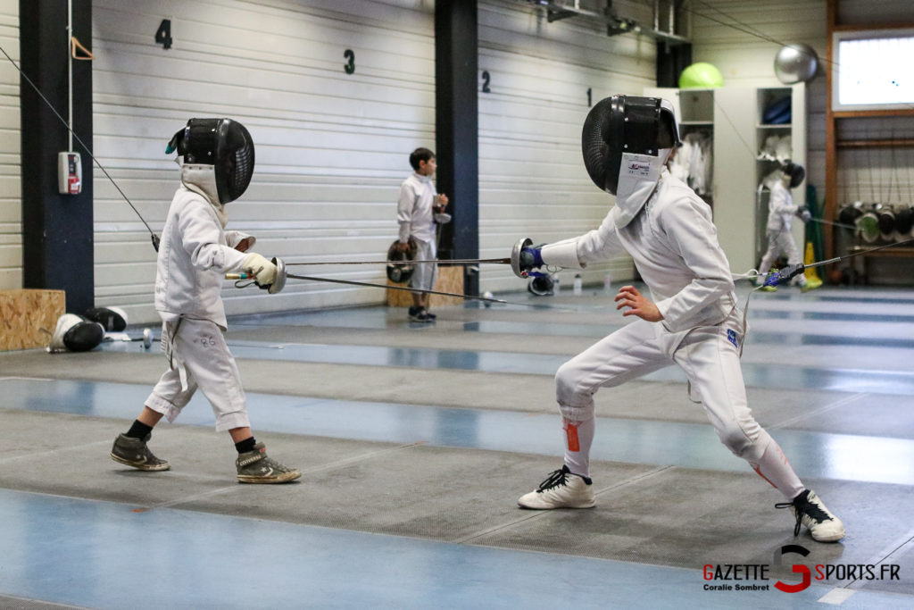 Escrime Préparation De Noel Pour Qualification Championnat De France Gazettesports Coralie Sombret 24