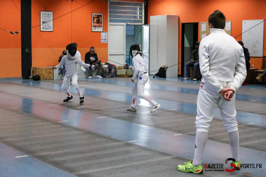 Escrime Préparation De Noel Pour Qualification Championnat De France Gazettesports Coralie Sombret 25