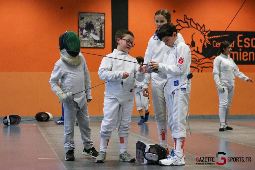 Escrime Préparation De Noel Pour Qualification Championnat De France Gazettesports Coralie Sombret 26