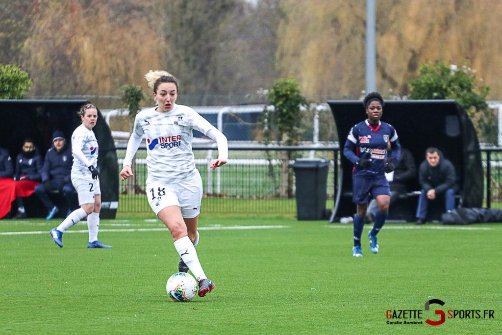 Football Feminin Asc Vs Thonon Evian Gazettesports Coralie Sombret 22