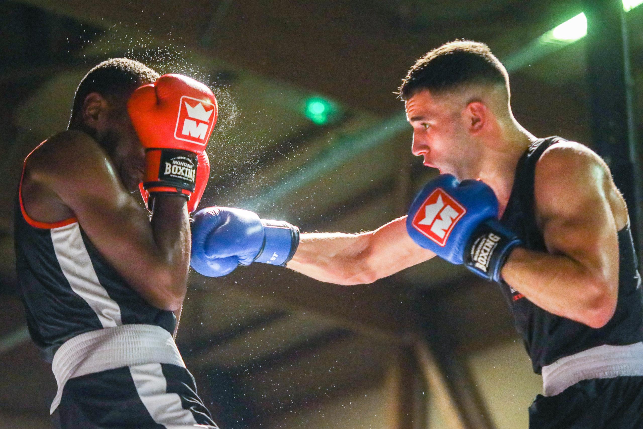 Nabil Bouazni Amiens Boxing Club Photos Roland Sauval 0007