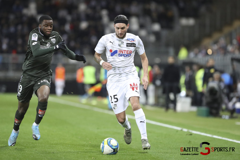 Football Amiens Sc Vs Dijon Ligue 1 0039 Leandre Leber Gazettesports