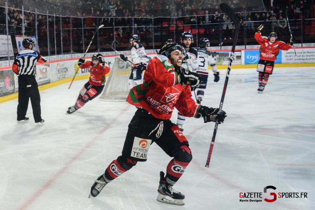 Hockey Sur Glace Gothiques Vs Angers Kevin Devigne Gazettesports 56