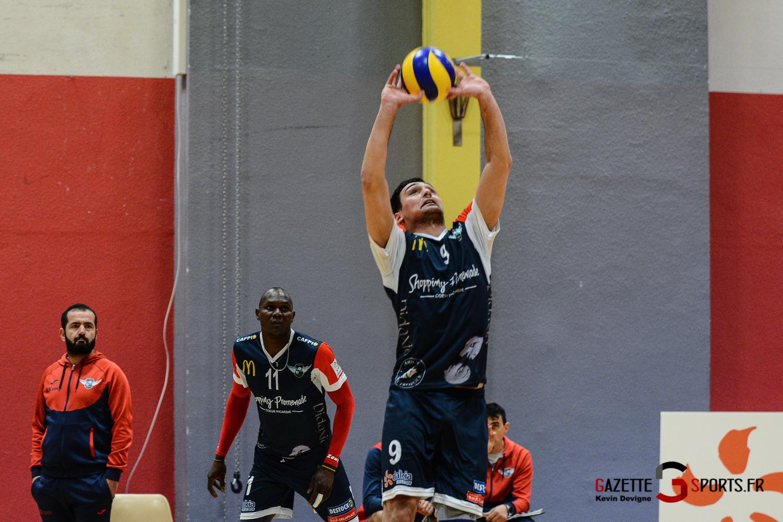 Volleyball Amvb Vs Villejuif Kevin Devigne Gazettesports 19